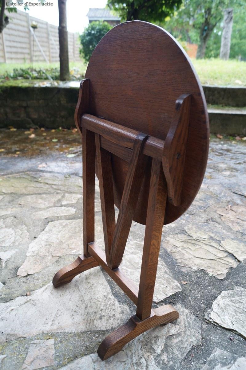 Moi aussi je chine l 39 atelier d 39 esperluette for Table th visible